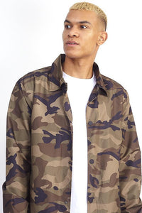 Jackets - Camo Coach Jacket