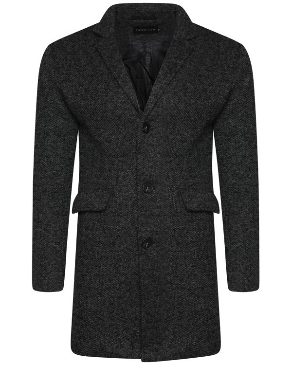 Jackets - Charles Overcoat Charcoal