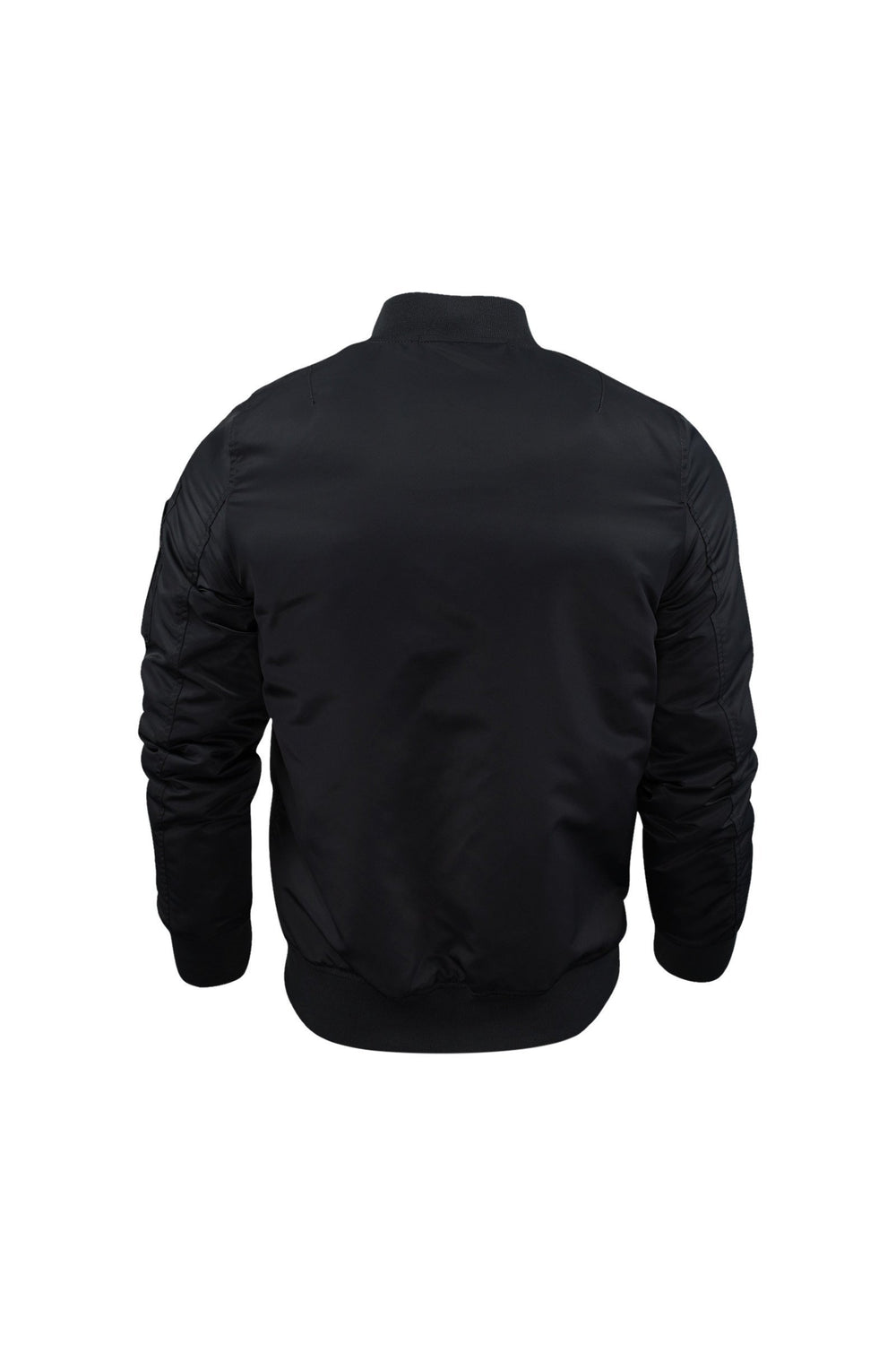 Jackets - Gotham Unpadded Bomber MA1 Jacket Black