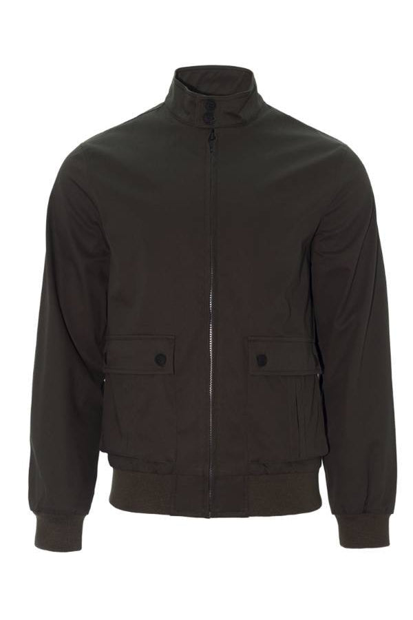 Jackets - Harrington Jacket Khaki