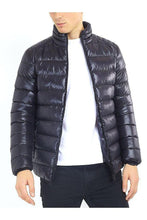 Load image into Gallery viewer, Jackets - Lightweight Puffer Black Shine