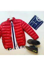 Load image into Gallery viewer, Jackets - Lightweight Puffer Red
