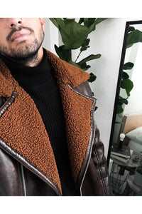 Jackets - Lux Pilot Jacket Brown