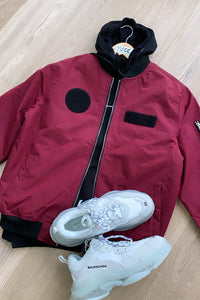 Jackets - Padded MA1 Jacket Plum