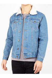 Jackets - Sherpa Denim Jacket