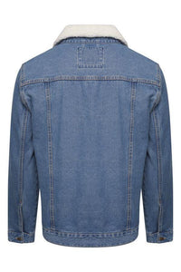Jackets - Sherpa Denim Jacket (removable Collar)