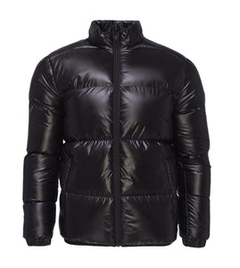Jackets - Shiny Puffer Black