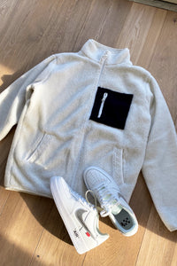 Jackets - Teddy Fleece Jacket White