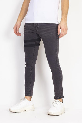 Jeans - Skinny Jeans Band Double Black