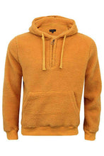 Load image into Gallery viewer, Jersey - Sherpa Fleece Hoodie Yellow