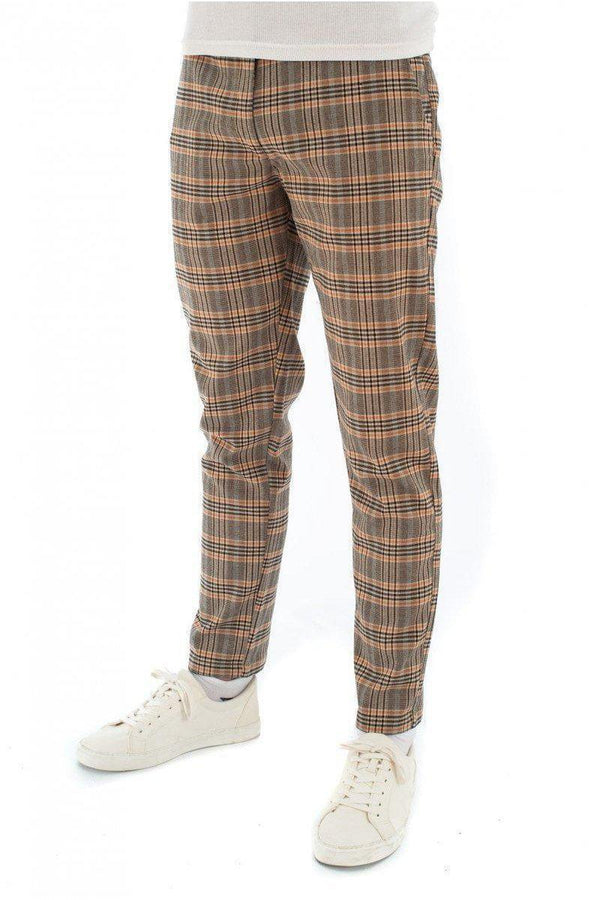 Jersey - Skinny Check Trousers Autumn