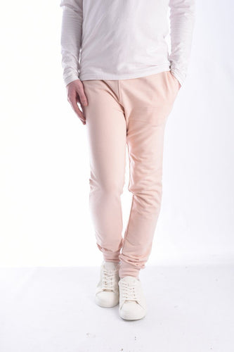Jersey - Skinny Track Bottoms Pink