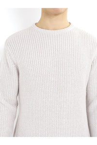 Knitwear - Fisherman Jumper Stone
