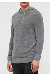 Knitwear - Knitted Hoodie Charcoal