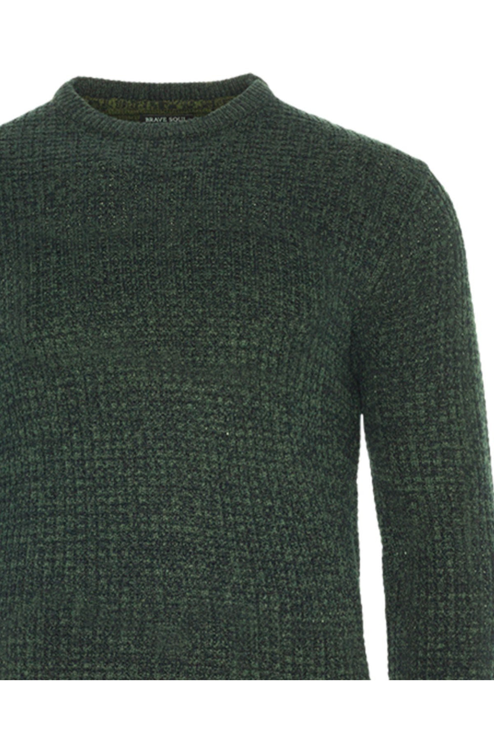 Knitwear - Lightweight Fisherman Jumper Khaki