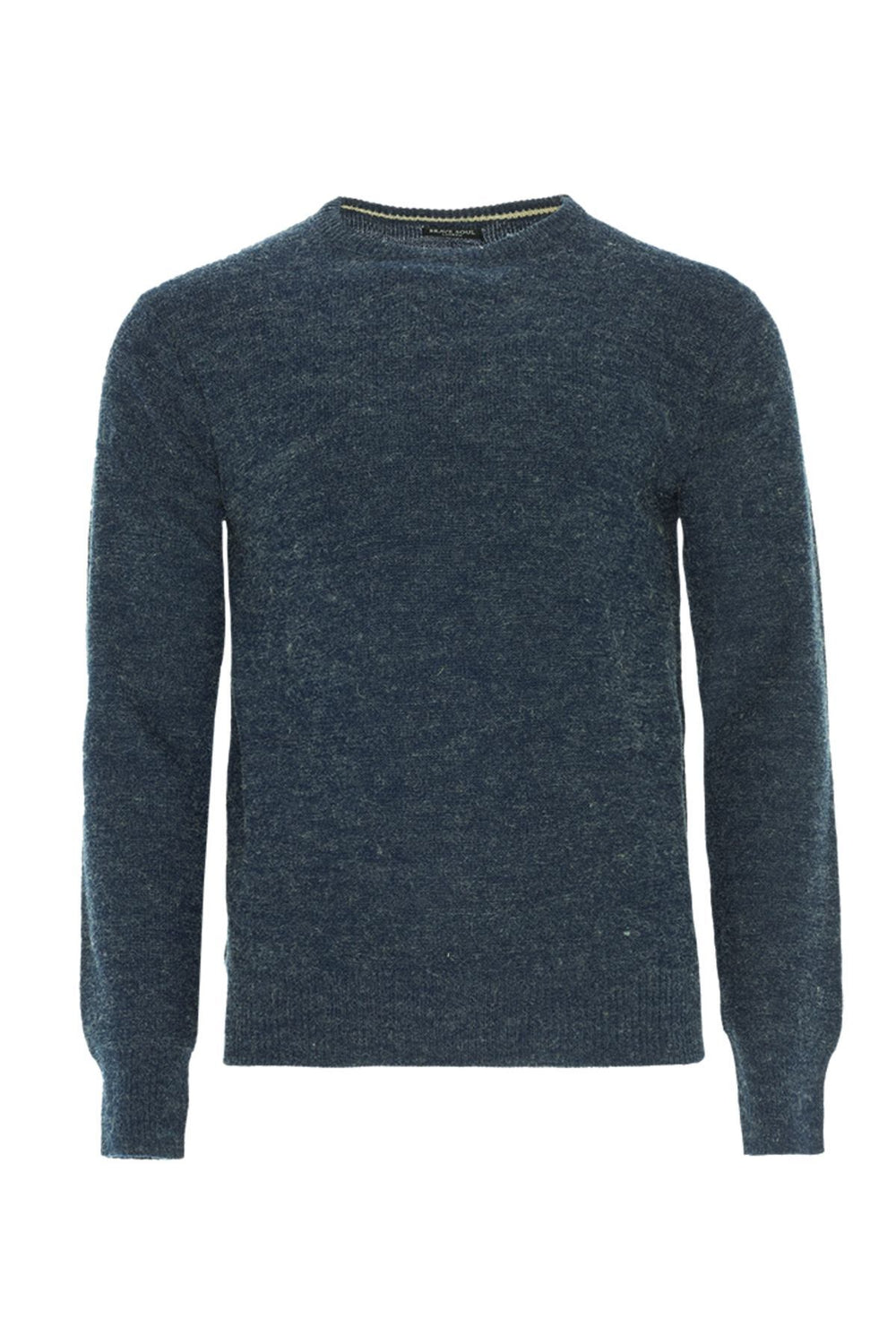 Knitwear - Lightweight Marl Crew Jumper Blue