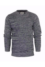 Load image into Gallery viewer, Knitwear - Lightweight Twist Knit Jumper Black Marl