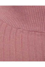 Load image into Gallery viewer, Knitwear - Muscle Fit Ribbed Turtle Knit Pink