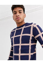 Load image into Gallery viewer, Knitwear - Spring Grid Knit Navy
