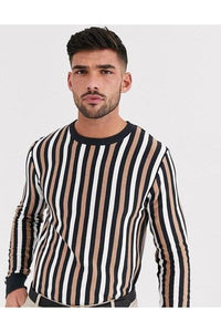 Knitwear - Spring Stripe Knit Gold