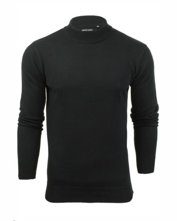 Knitwear - Turtle Lightweight Knit Black