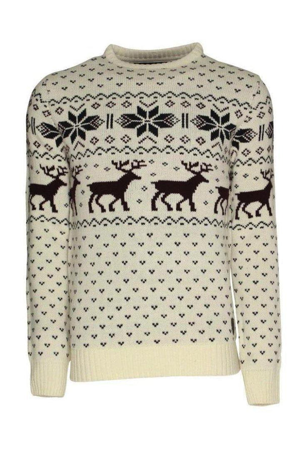 Knitwear - XMAS Knit Off White