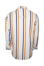 Load image into Gallery viewer, Long Sleeve Stripe Shirt Off White