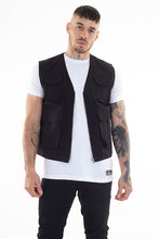Load image into Gallery viewer, Utility Vest Black