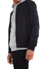 Load image into Gallery viewer, Lightweight Bomber Jacket Black