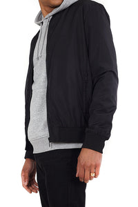 Lightweight Bomber Jacket Black