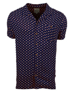 Mosaic Shirt Navy