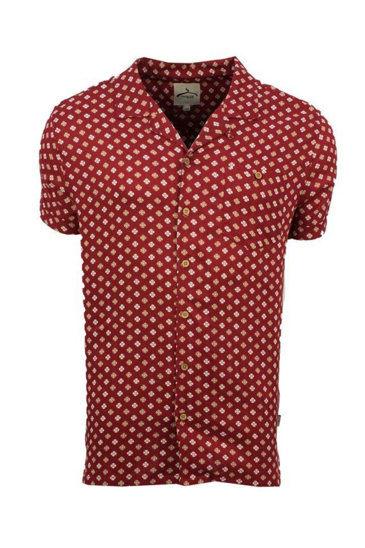 Mosaic Shirt Red