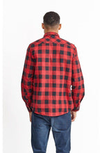 Load image into Gallery viewer, Flannel Check Shirt Red