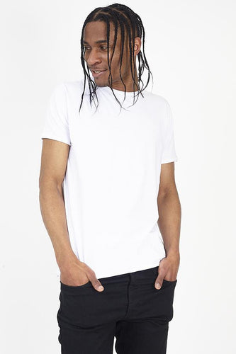 Cutoff T-Shirt White