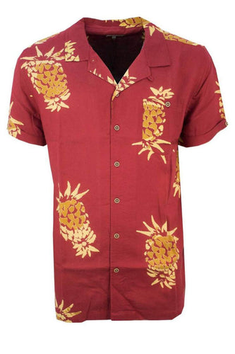 Pineapple Holiday Shirt Red