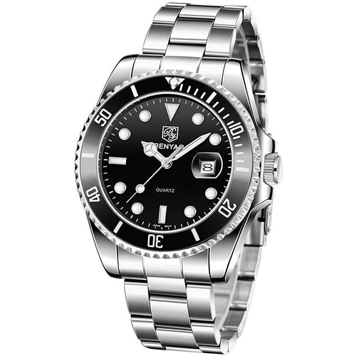 Seamaster Watch Black Steel