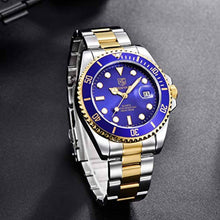 Load image into Gallery viewer, Seamaster Watch Blue Gold