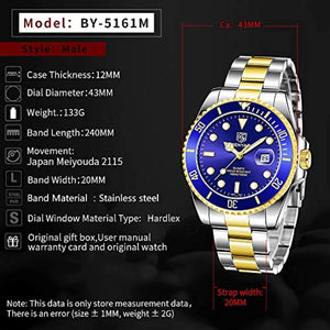 Seamaster Watch Blue Gold