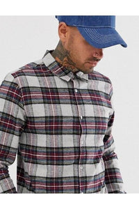 Shirts - Soft Flannel Shirt Check Burg