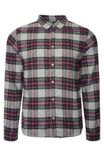 Load image into Gallery viewer, Shirts - Soft Flannel Shirt Check Burg