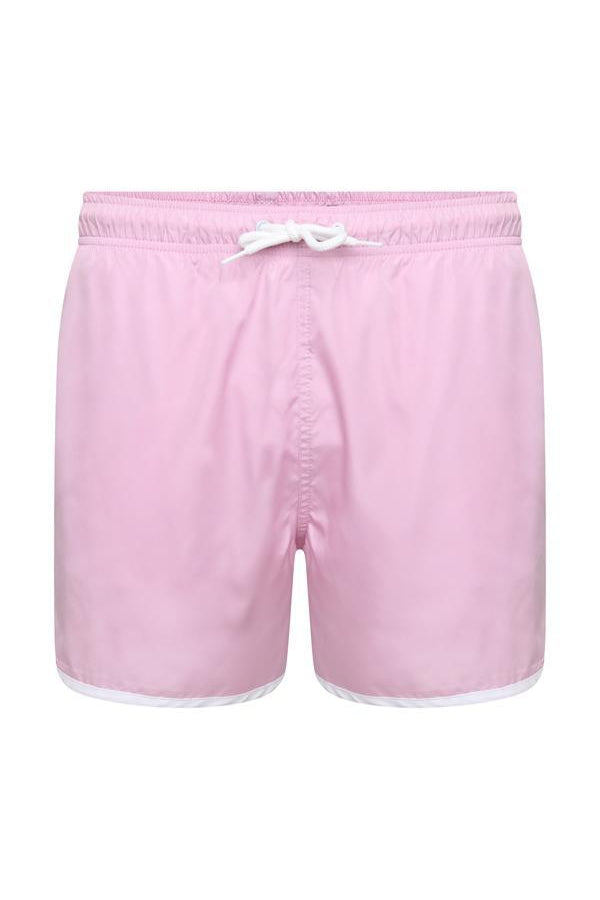 Shorts - Basic Swim Shorts Pink
