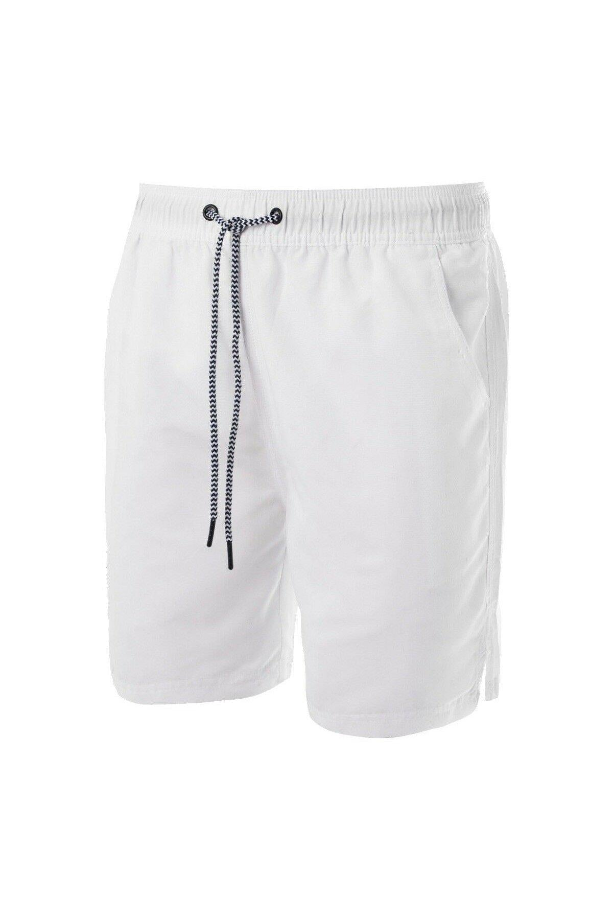 Shorts - Basic Swim Shorts White