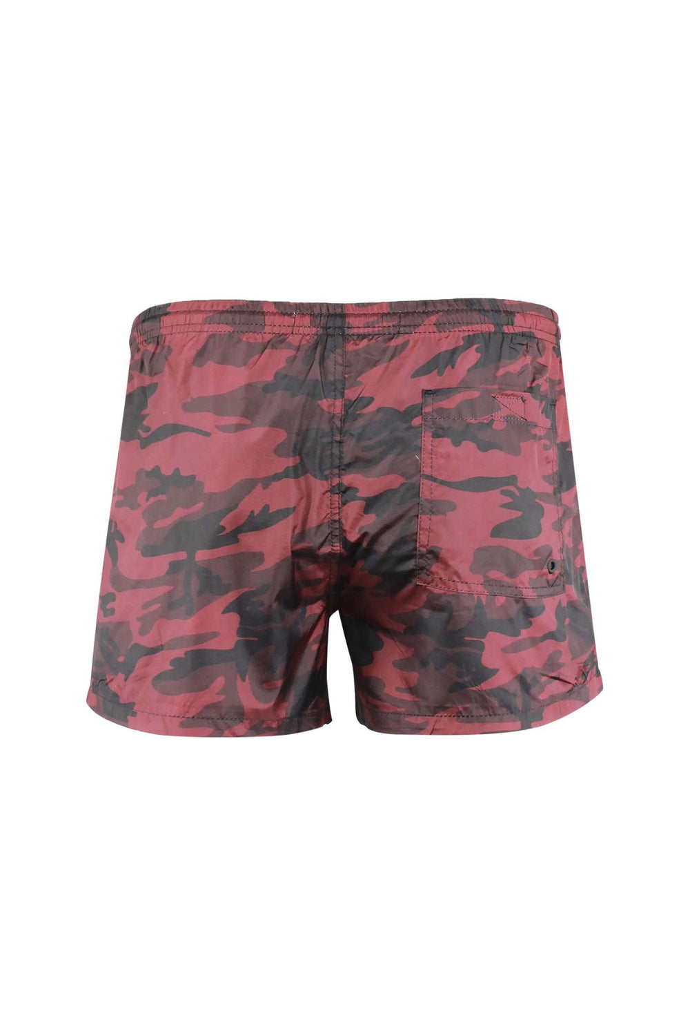 Shorts - Camo Swim Shorts Red