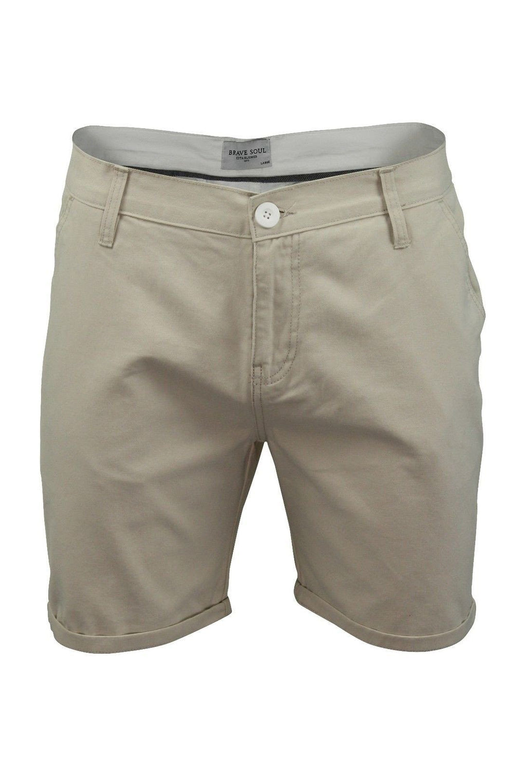 Shorts - O Skinny Chino Shorts Stone XL