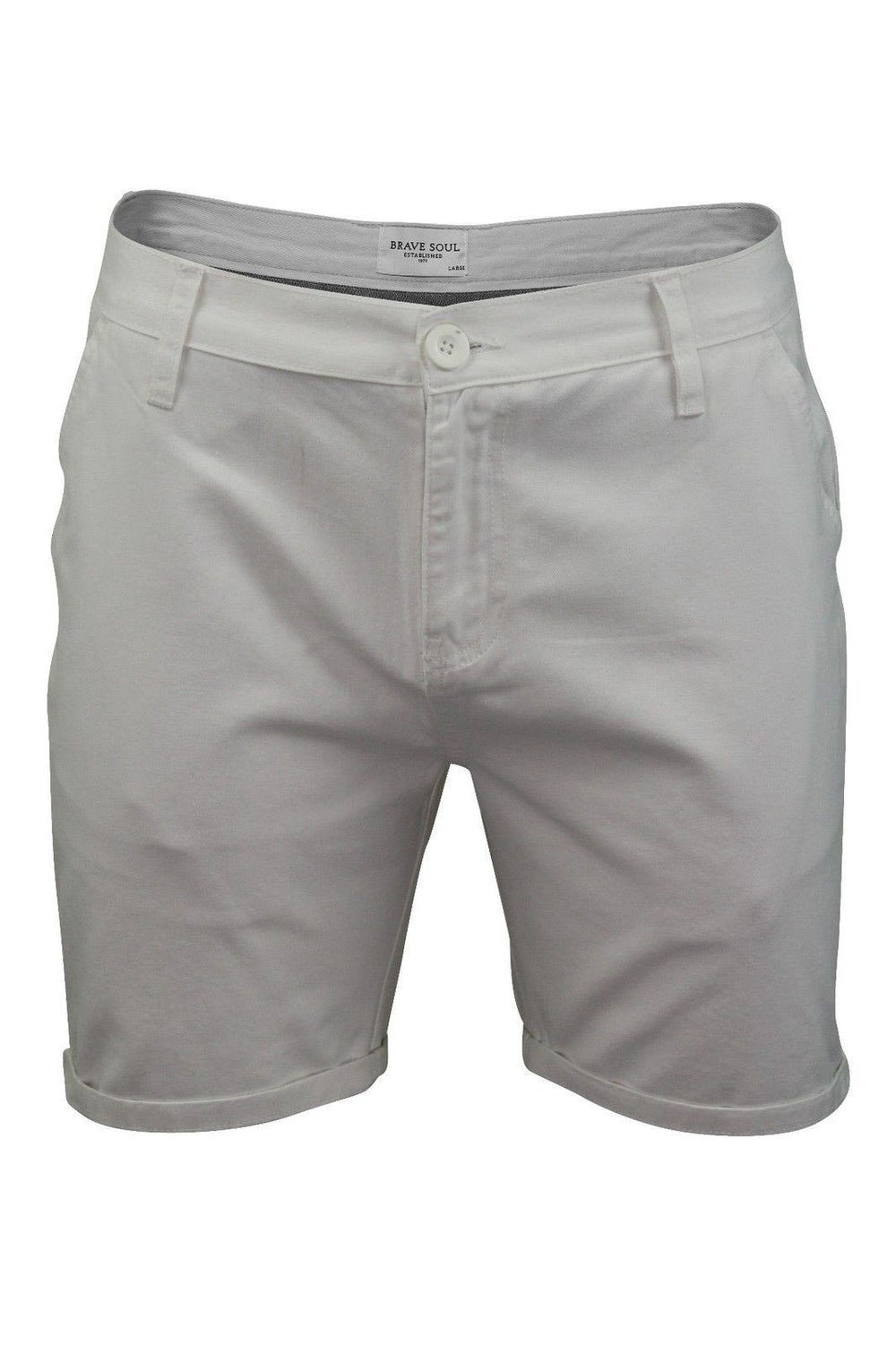 Shorts - O Skinny Chino Shorts White XL