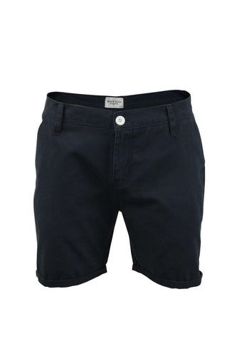 Shorts - Skinny Chino Shorts Navy