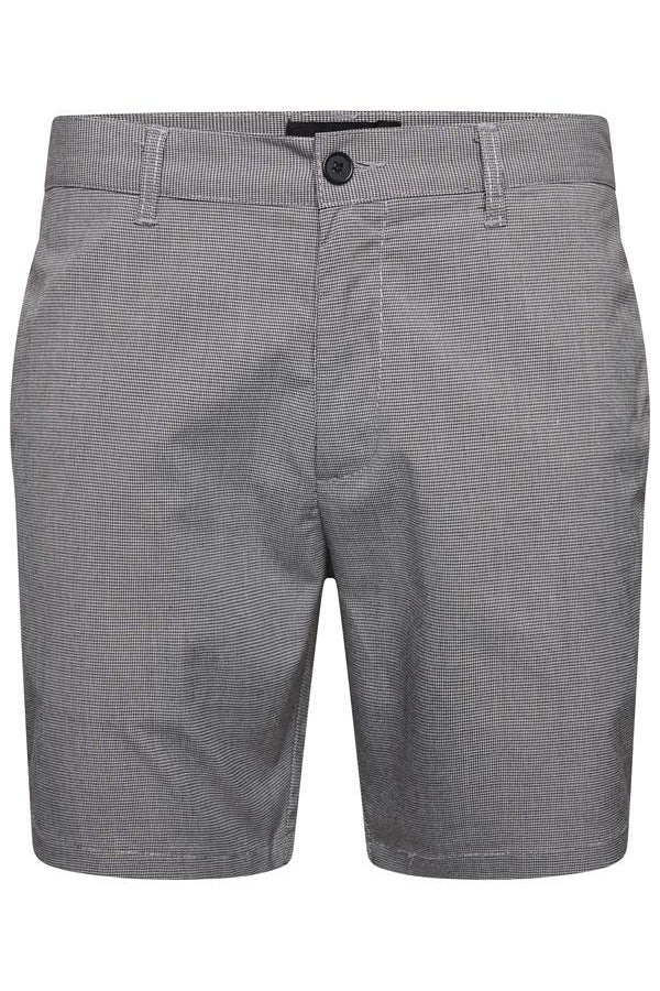 Shorts - Smart Check Shorts Stripe Grey