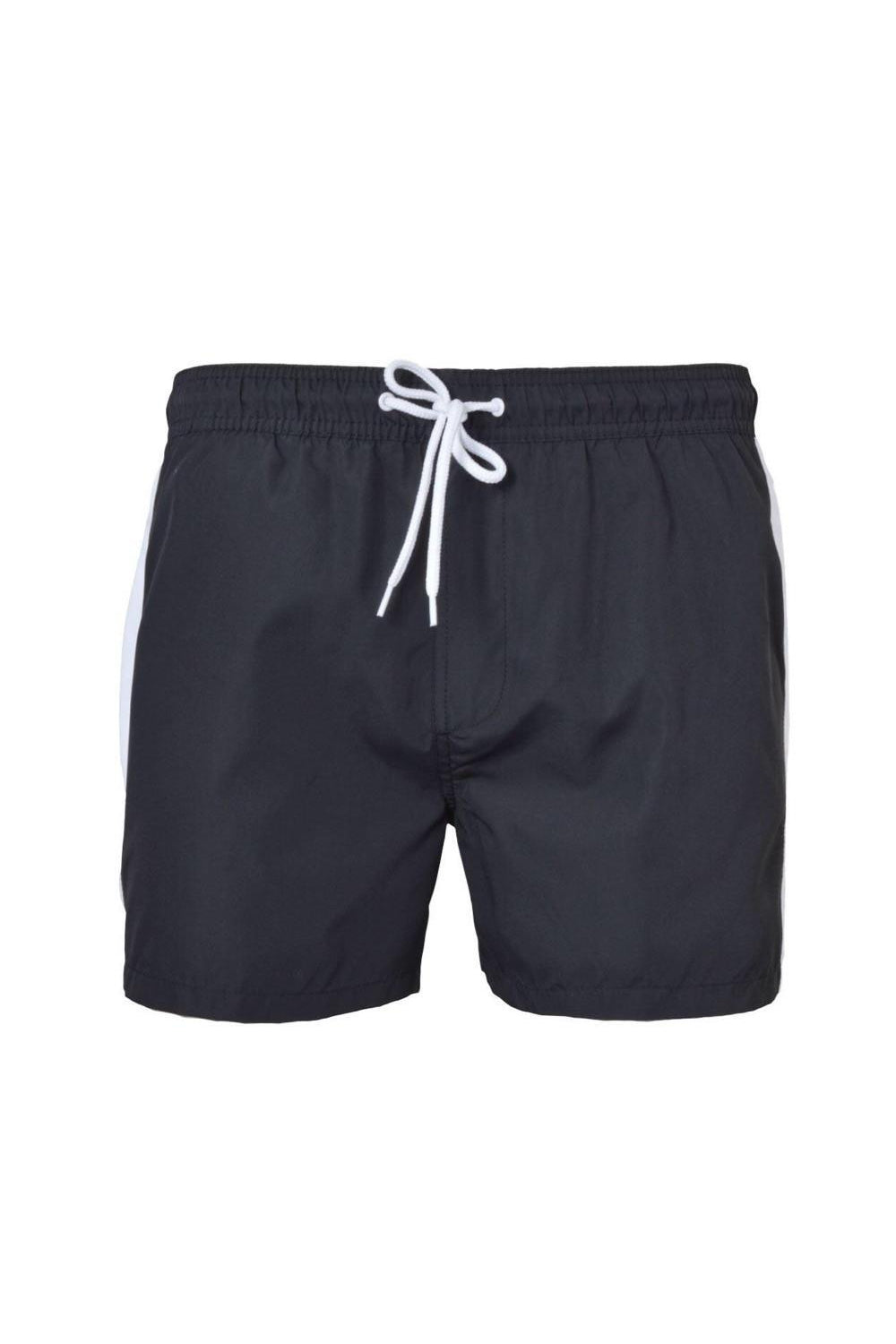 Shorts - Speed Stripe Swim Shorts Black