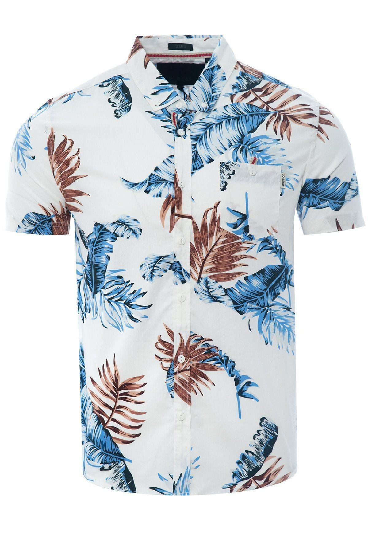 Soft Feather Holiday Shirt White