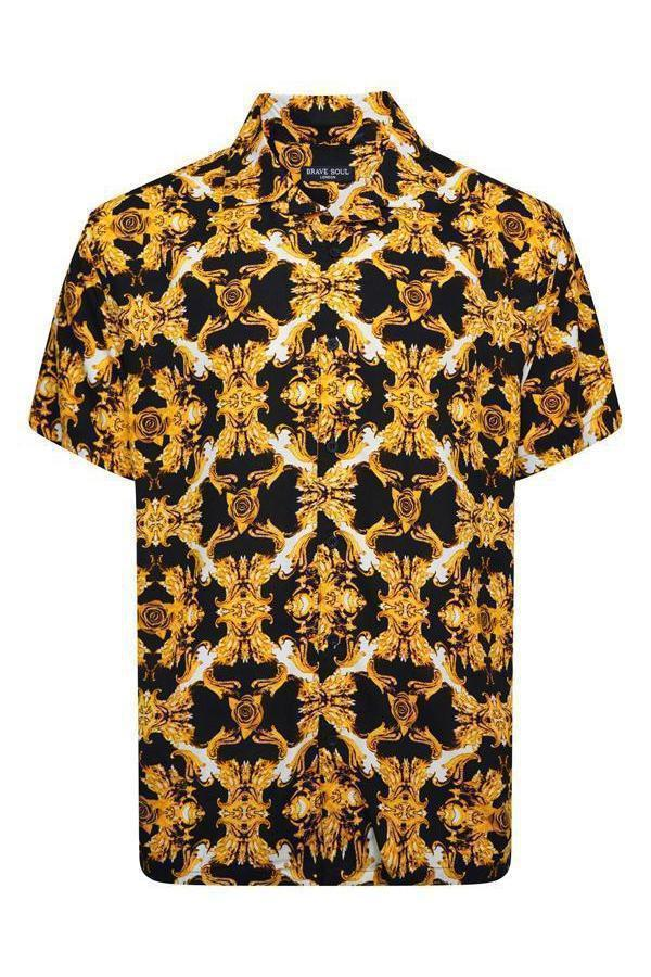 Soft Feel Baroque Shirt